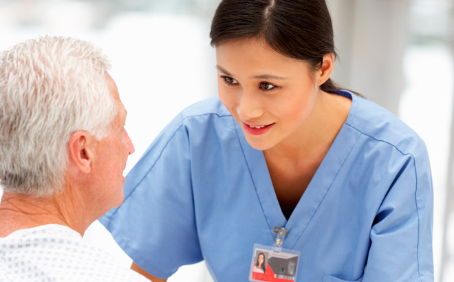 The benefits of nursing care and service at home